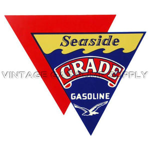 "11""x13"" Seaside Grade Gasoline Water Transfer Decal"