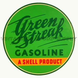 "12"" Green Streak Water Transfer Decal"