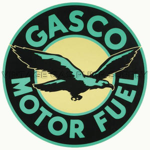 "12"" Gasco Water Transfer Decal"