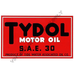 "8"" Tydol Water Transfer Decal"