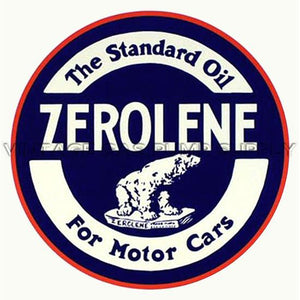 "9"" Zerolene Water Transfer Decal"