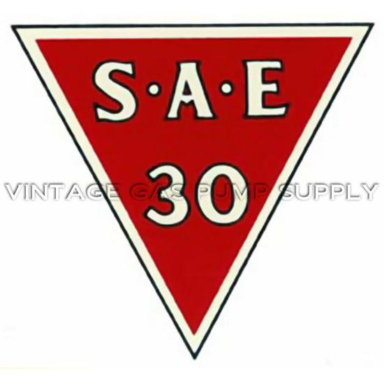 Gilmore S.A.E. 30 Water Transfer Decal