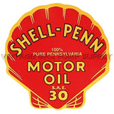 "9"" Shell Penn Water Transfer Decal"