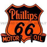 "7.75"" Phillips 66 Motor Oil Water Transfer Decal"