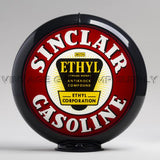 "Sinclair Ethyl 13.5"" Gas Pump Globe with Black Plastic Body"