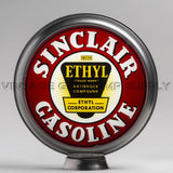 "Sinclair Ethyl 13.5"" Gas Pump Globe with Steel Body"