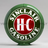 "Sinclair H-C 13.5"" Gas Pump Globe with Green Plastic Body"