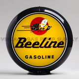 "Beeline Gasoline 13.5"" Gas Pump Globe with Black Plastic Body"
