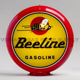 "Beeline Gasoline 13.5"" Gas Pump Globe with Red Plastic Body"