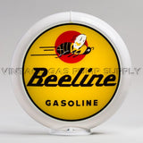 "Beeline Gasoline 13.5"" Gas Pump Globe with White Plastic Body"