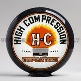 "Supertest HC 13.5"" Gas Pump Globe with Black Plastic Body"