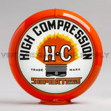 "Supertest HC 13.5"" Gas Pump Globe with Orange Plastic Body"