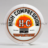 "Supertest HC 13.5"" Gas Pump Globe with White Plastic Body"