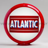 "Atlantic Bar 13.5"" Gas Pump Globe with Red Plastic Body"