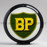 "BP 13.5"" Gas Pump Globe with Black Plastic Body"