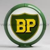 "BP 13.5"" Gas Pump Globe with Green Plastic Body"