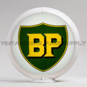 "BP 13.5"" Gas Pump Globe with White Plastic Body"