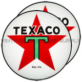 "Texaco Star 15"" Pair of Lenses"