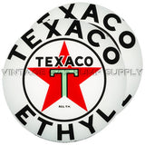 "Texaco Ethyl (White) 15"" Pair of Lenses"