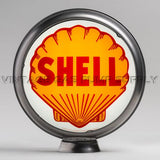 "Shell 15"" Gas Pump Globe with Steel Body"