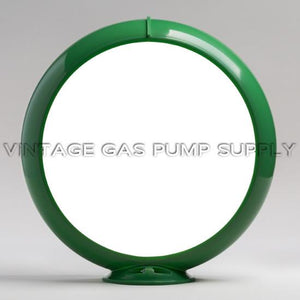 "13.5"" Green Plastic Globe Body"