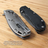 Zero Tolerance ZT0560 561 ZT Knife 12PC RAW Titanium Screw Set inc Ti LBS Washer