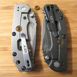 Zero Tolerance ZT0550 560 ZT Knife Titanium Lock Bar Stabilizer Washer - BRONZE