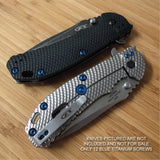Zero Tolerance ZT0560 561 ZT Knife 13PC Titanium Screw Set inc LBS Washer BLUE