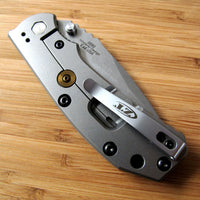 Zero Tolerance ZT0550 560 Knife BRONZE Titanium Lock Bar Stabilizer + Torx Screw