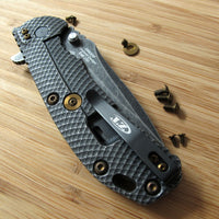 Zero Tolerance ZT0560 561 ZT Knife 12PC Titanium Screw Set inc LBS Washer BRONZE