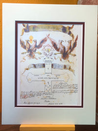 Rosicrucian, Illuminated Manuscript, Esoteric Art, Sacred Geometry Art, Manly P Hall, Occult Book, Free Mason, Alchemy Print