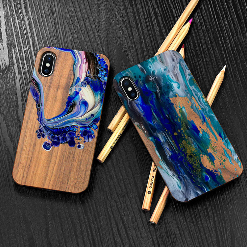 Eco-Case | Plant ∞ Wood | Ocean-Friendly | Greentic ✓ Plasnot X