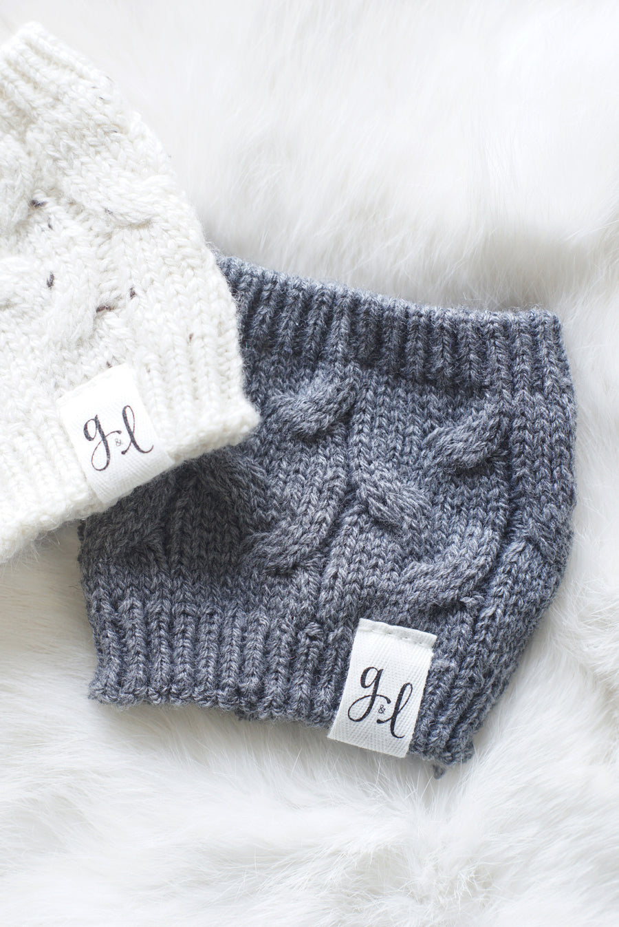 The Grace and Lace + MBC Cable Knit Cozy