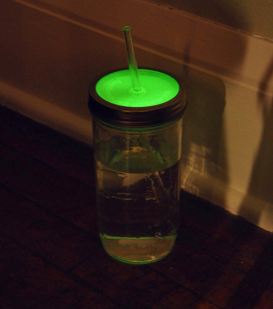 Glow in the Dark MBC Mason Jar Tumbler Lid