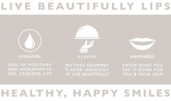 Live Beautifully Lip Balm (Single)