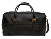 Leather Cabin Travel Duffle Weekend Bag