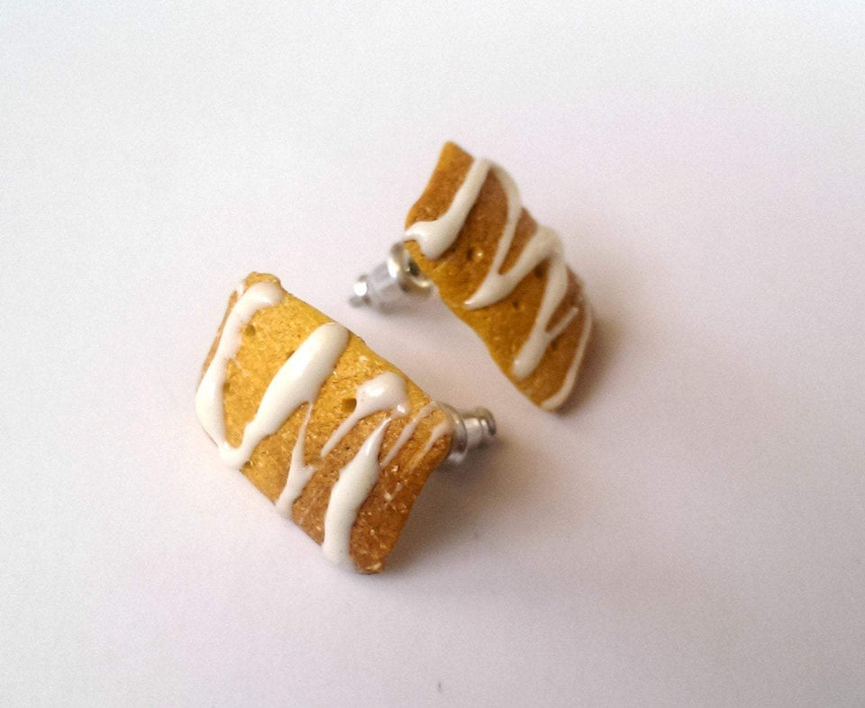 Breakfast Food Pastry earrings