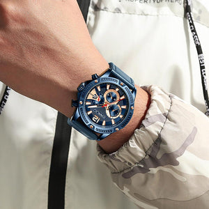 Men' Casual Leather Watch