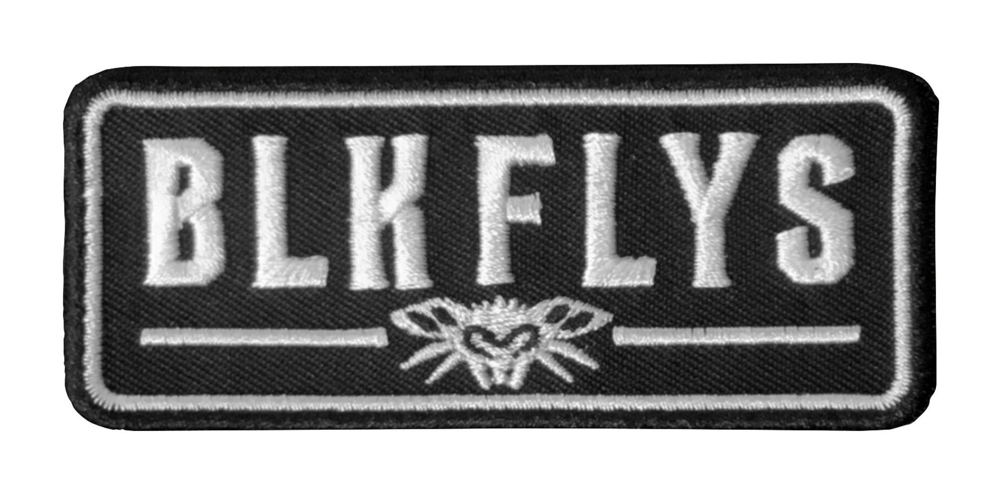 BLK FLYS Patch