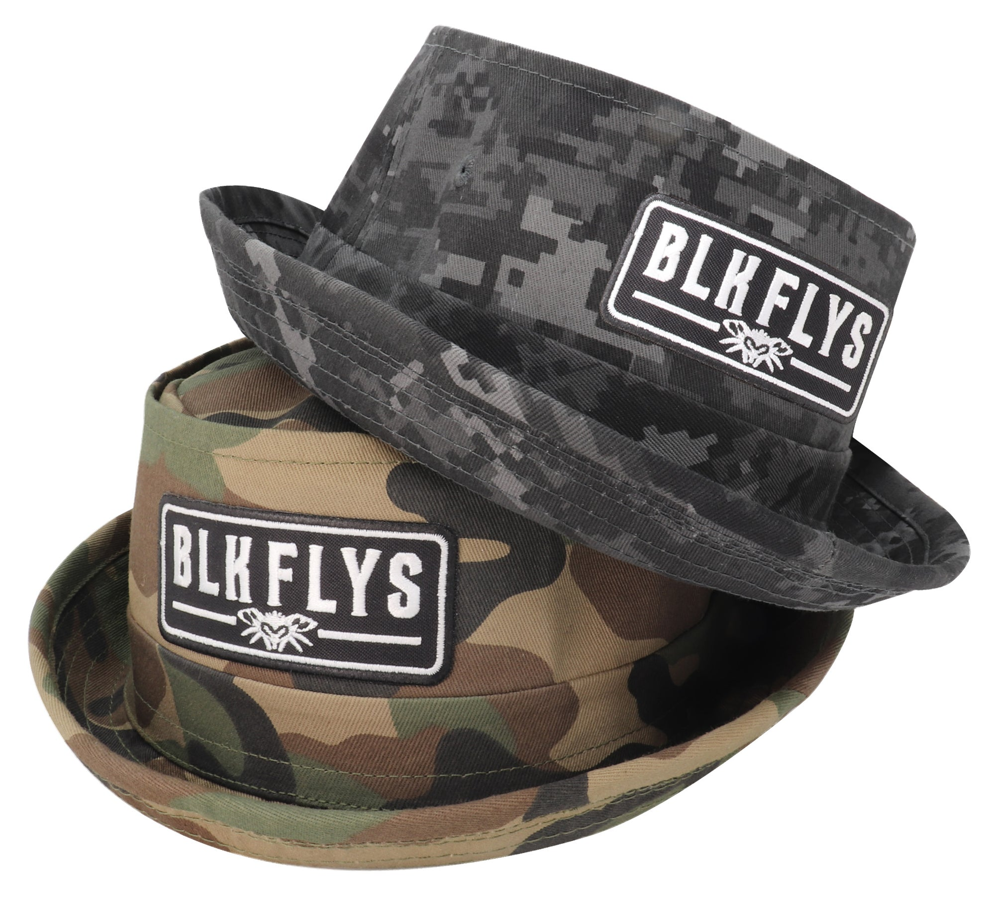 BLK FLYS Patch Bucket Hat
