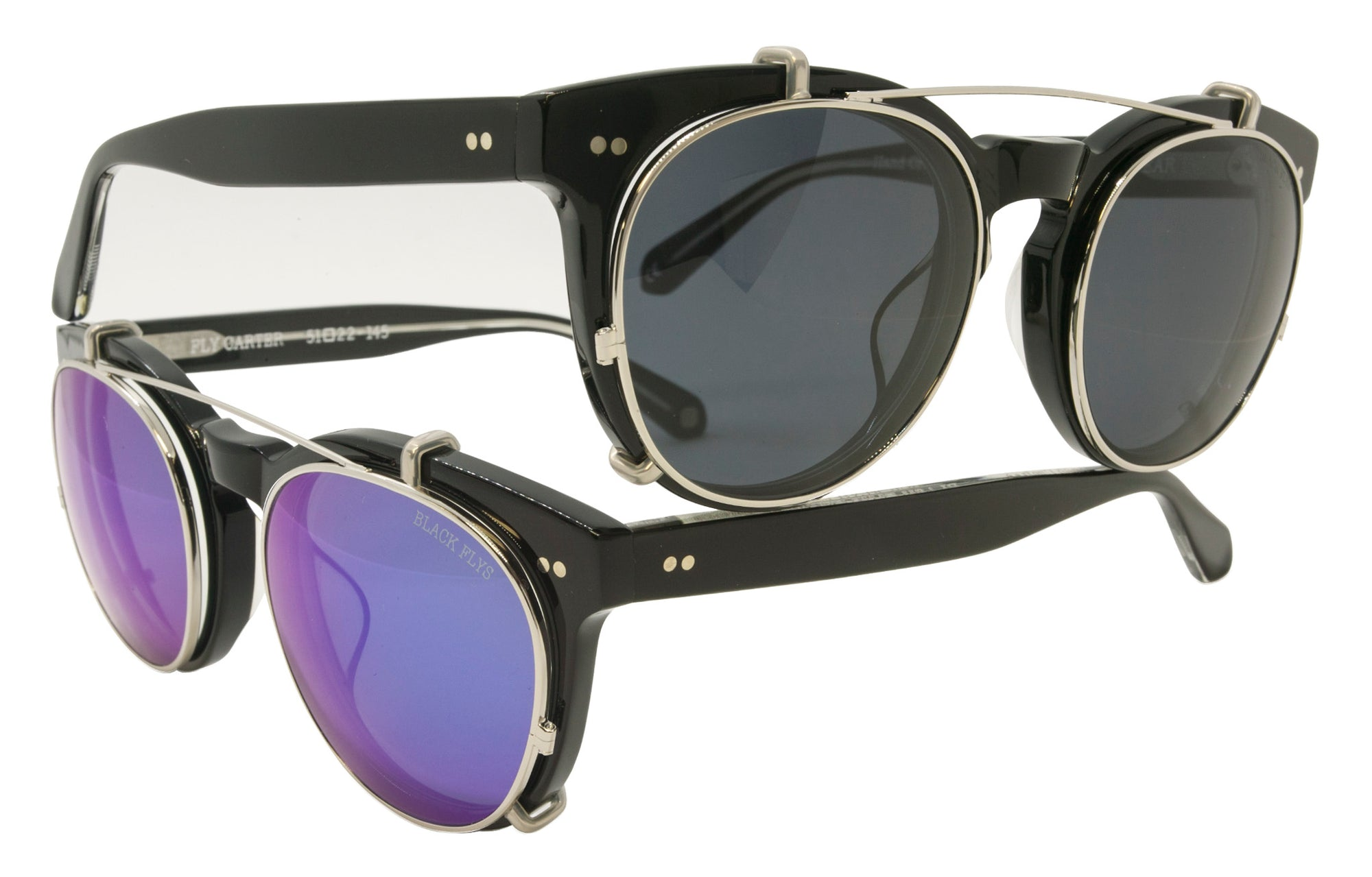 Fly Carter Clip On Sunglass