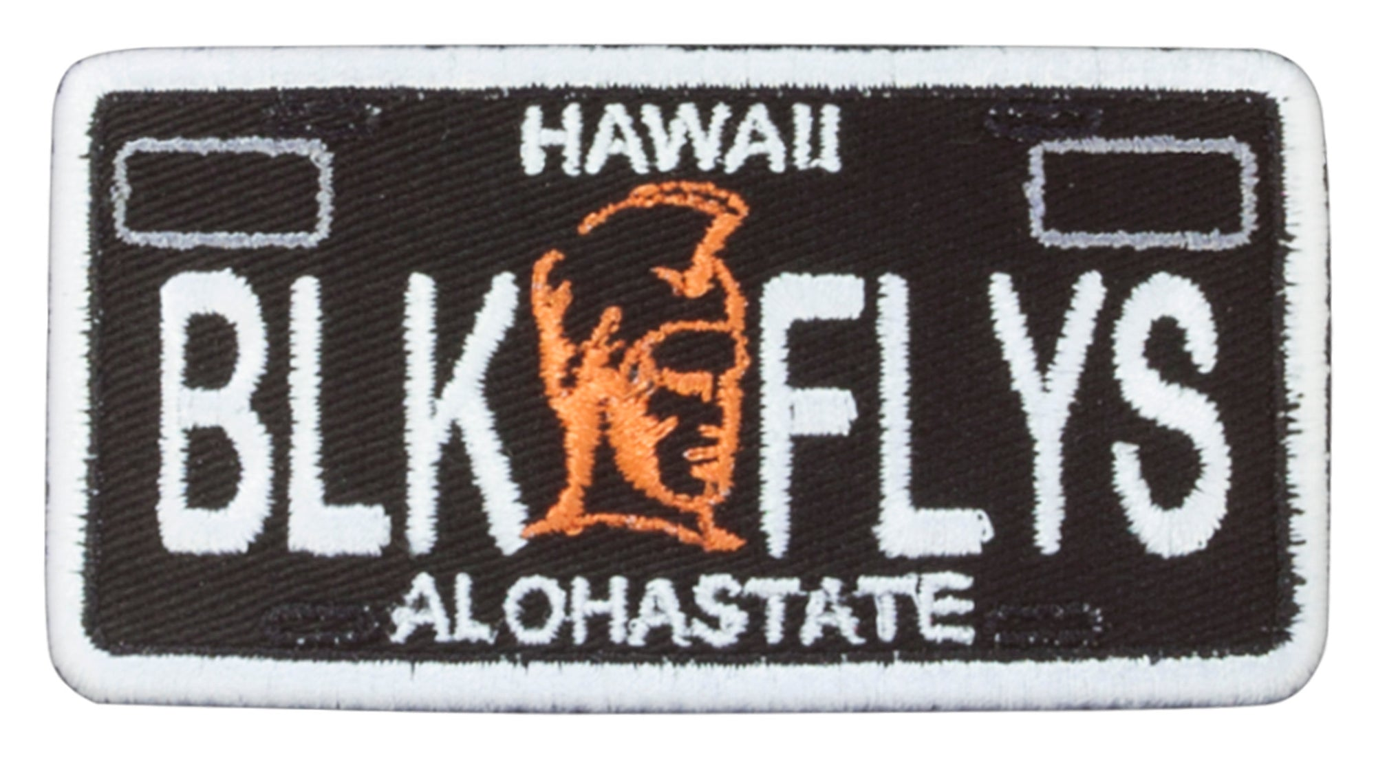 Hawaii Warrior Plate Patch