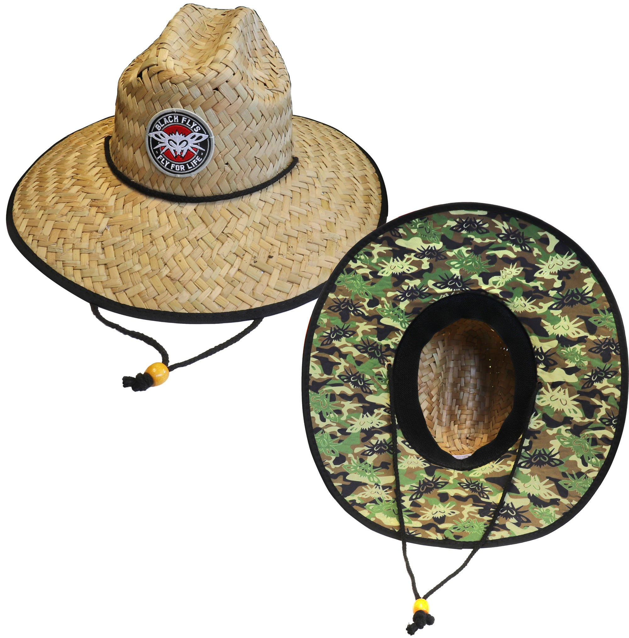 Fly 4 Life Straw Hat