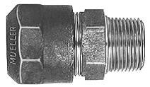 Mueller Adapter Compression CTS OD  X Male Iron Pipe