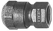 Mueller Adapter Compression CTS OD X Female Iron Pipe