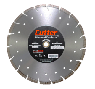 Cutter Diamond 'The One' Turbo Blade 14 x .125 x 1/20mm