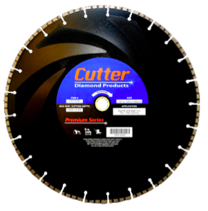 Cutter Diamond Ductile Iron Blade 14 x .125 x 1/20mm