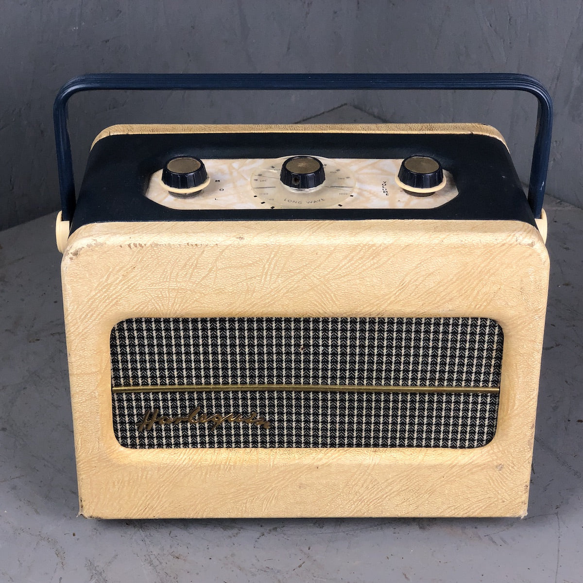 Berec Harlequin 1956 Vintage Radio - converted to Bluetooth