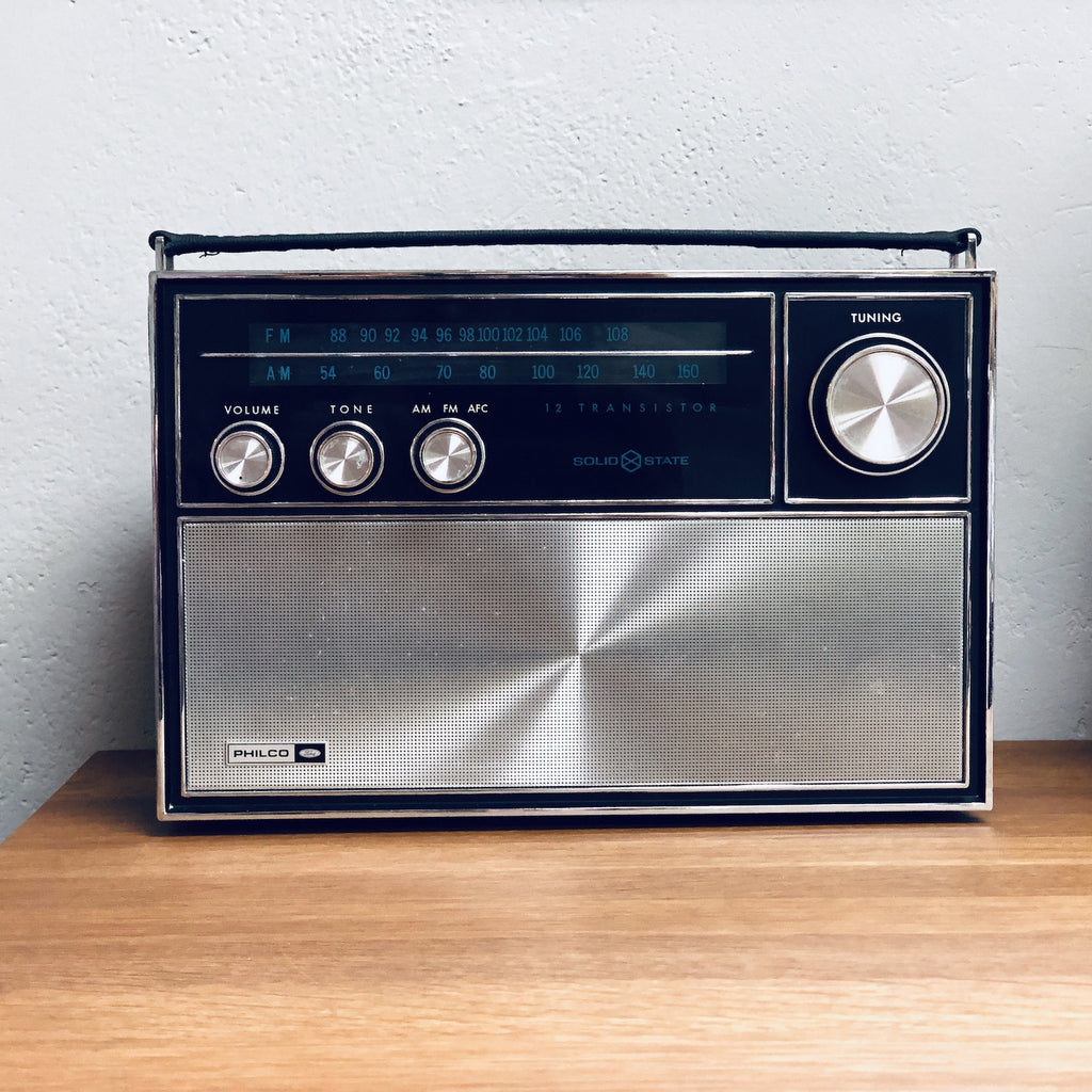 "Philco ""Ford"" QT-96BK Radio (convert to 2.1 Bluetooth 4.0 Speaker)"