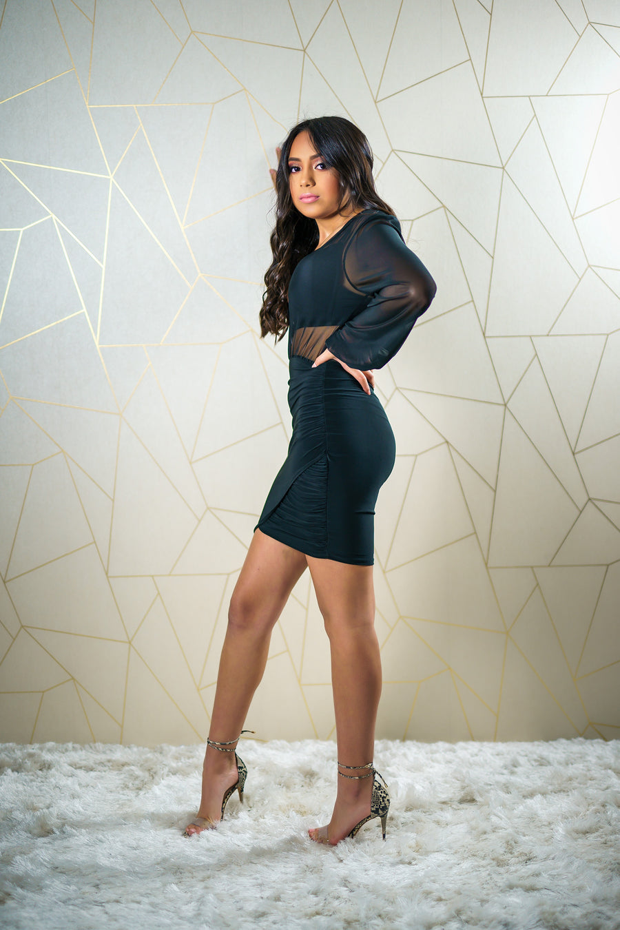 Mindy Black Dress